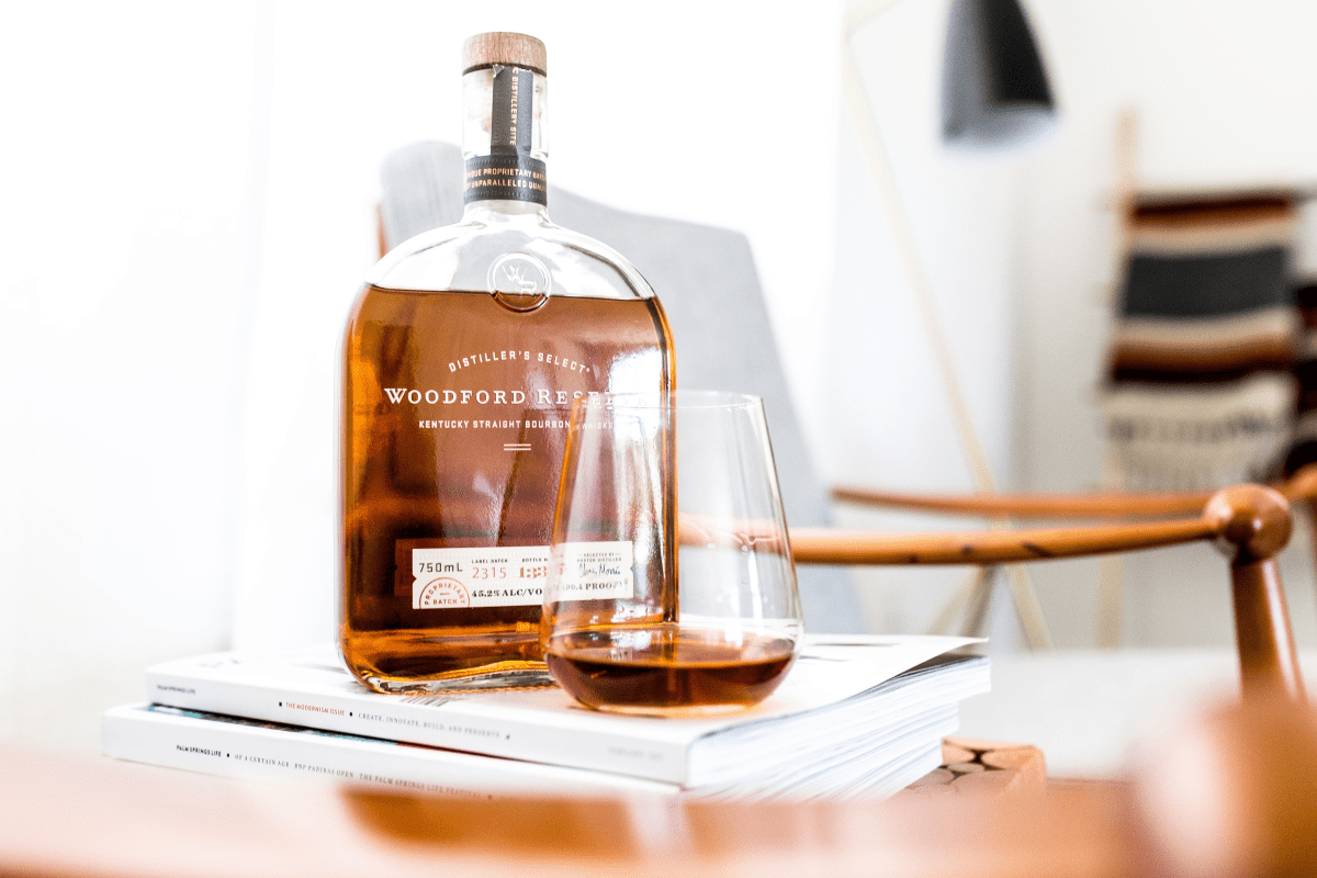 Kentucky Straight Bourbon: Woodford Reserve.